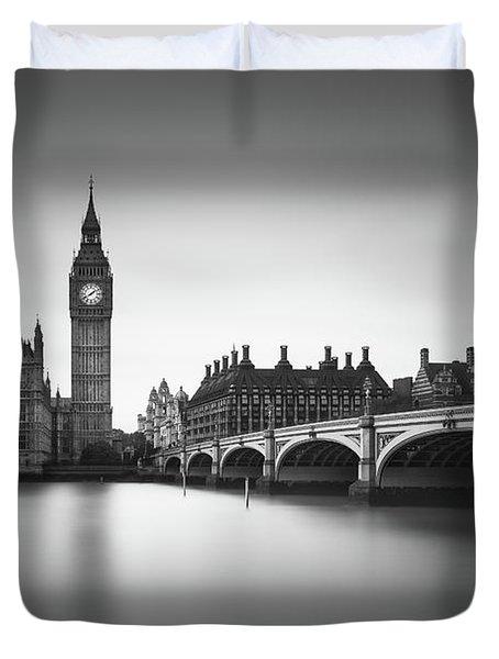London, Westminster Bridge Duvet Cover