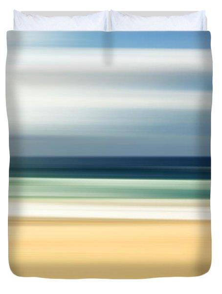 Lone Beach Duvet Cover