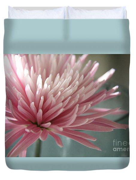 Lone Bloom Duvet Cover by Lynn England