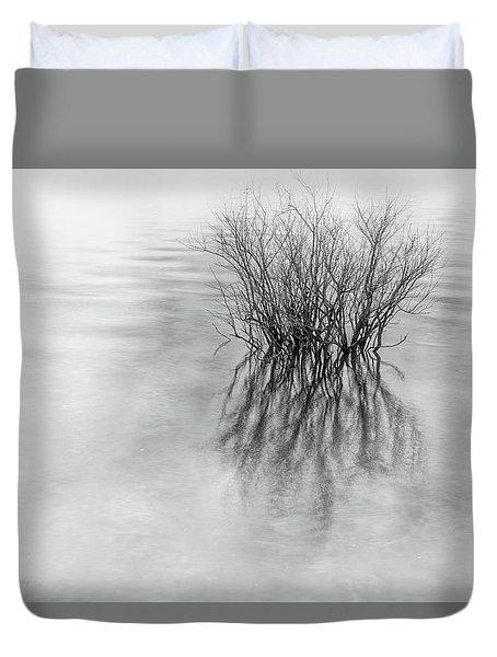 Lone Bush Duvet Cover