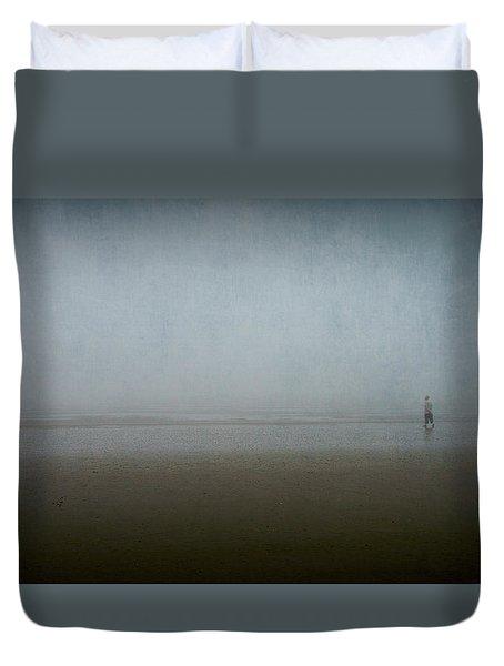 Lone Figure Duvet Cover