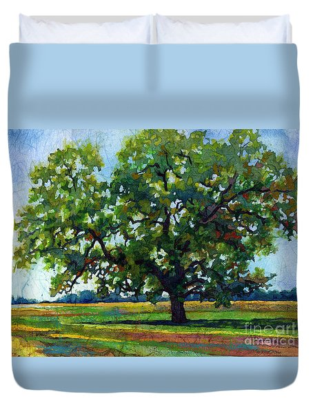Lone Oak Duvet Cover