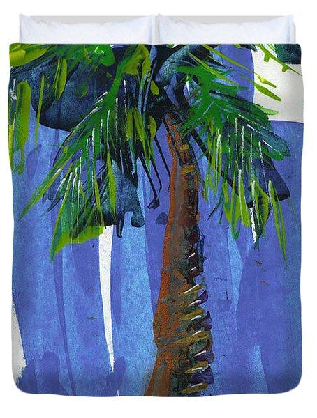 Lone Palm Duvet Cover
