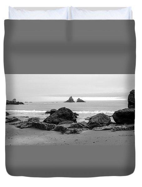 Lone Ranch Beach Duvet Cover