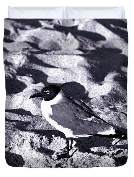 Lone Seagull Duvet Cover