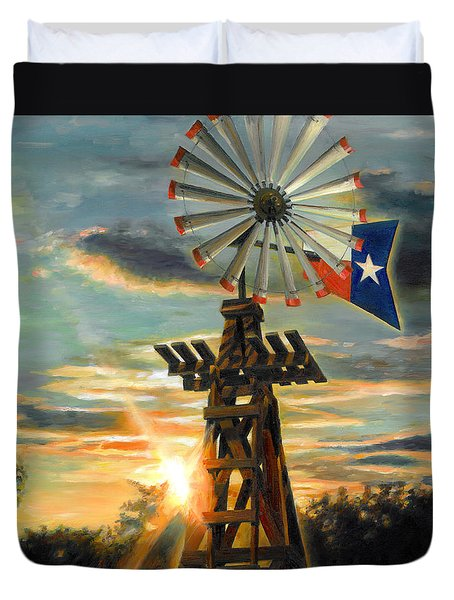 Lone Star Sky Duvet Cover
