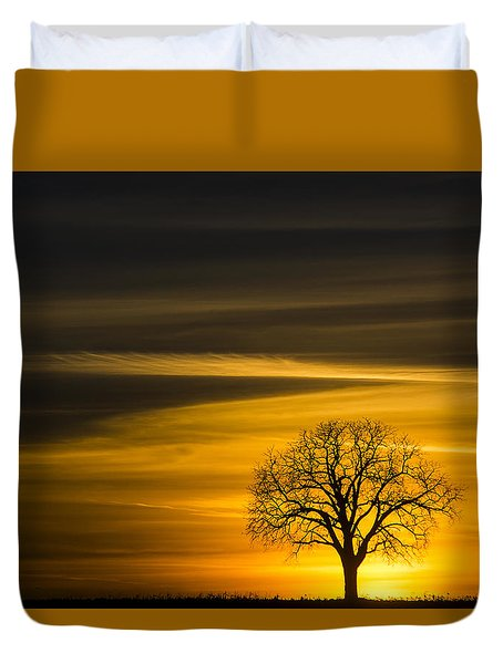 Lone Tree - 7061 Duvet Cover