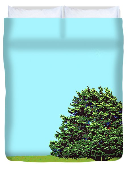 Lone Tree Duvet Cover by Dominic Piperata
