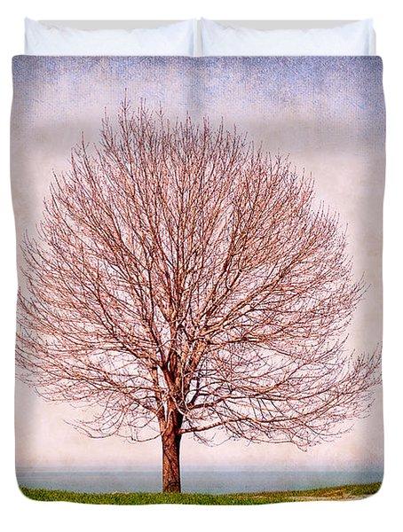 Lone Tree Duvet Cover