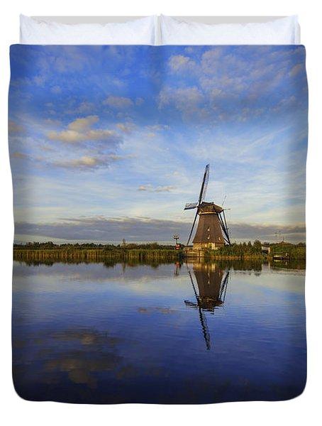 Lone Windmill Duvet Cover