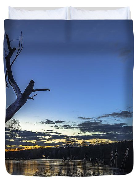 Lone Witness Duvet Cover