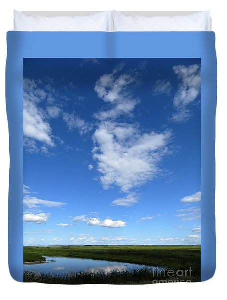 Lonely As A Cloud Duvet Cover