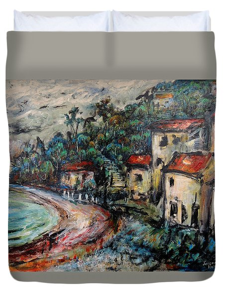 Lonely Bay Duvet Cover