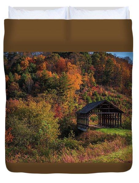 Lonely Bridge Duvet Cover