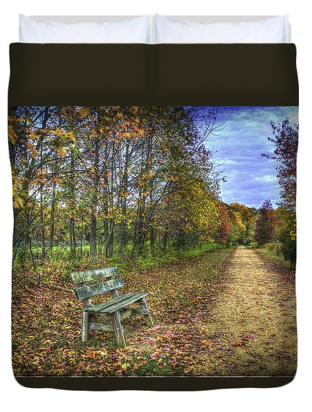 Lonely Chair Duvet Cover