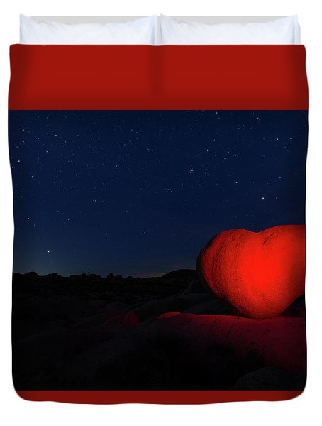 Lonely Heart   Duvet Cover