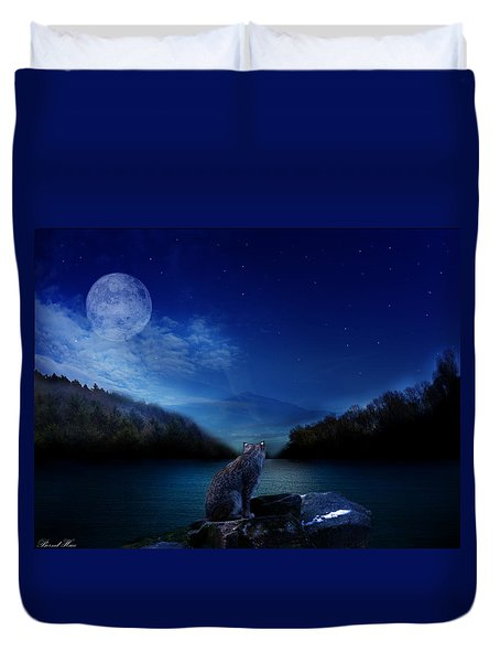 Lonely Hunter Duvet Cover