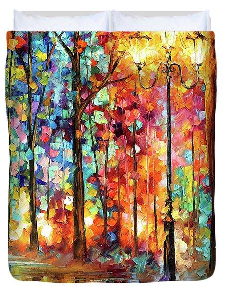 Lonely Light Duvet Cover
