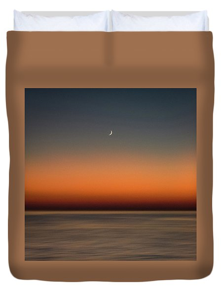 Lonely Moon Duvet Cover