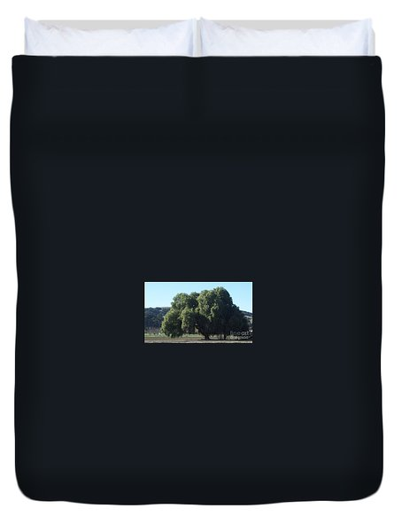 Lonely On The Back Roads Duvet Cover