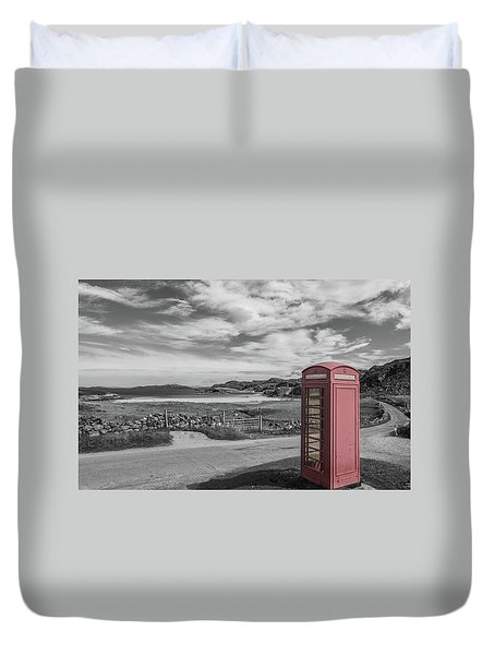 Lonely Phone Duvet Cover