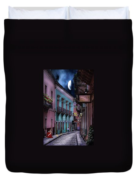Lonely Street Duvet Cover