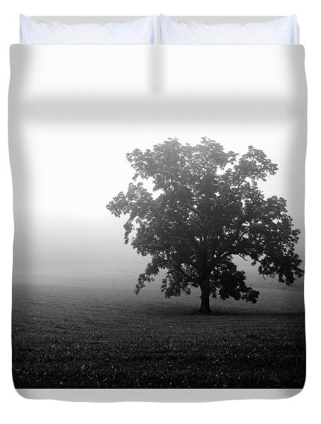 Lonely Tree Duvet Cover by Deborah Scannell
