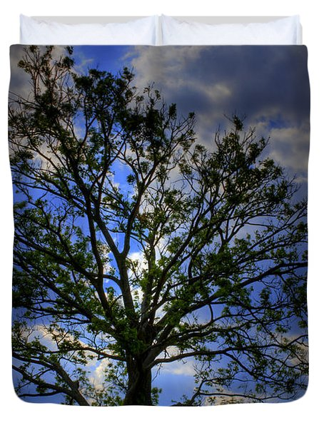Lonely Tree Duvet Cover by Kevin Hill