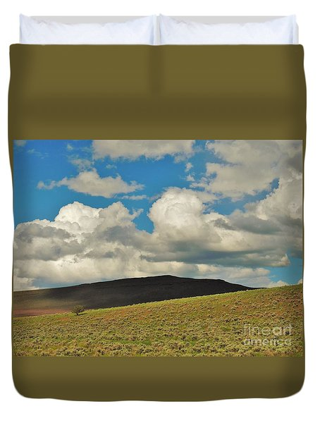 Lonely Tree Duvet Cover by Michele Penner