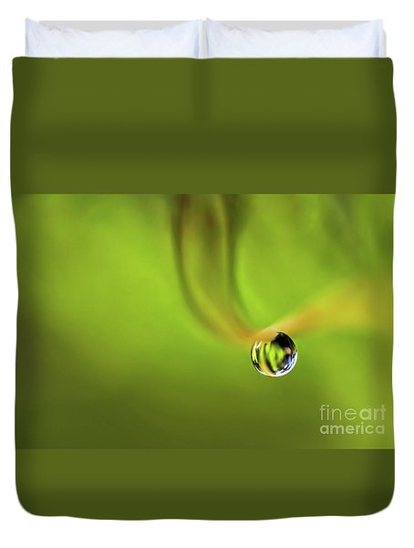Lonely Water Droplet Duvet Cover