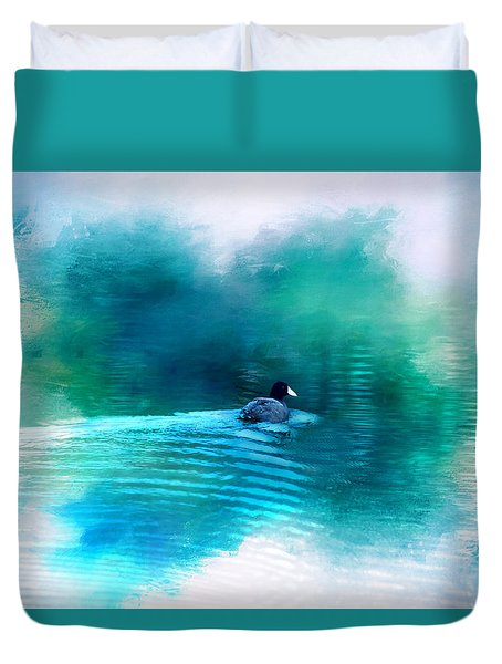 Lonely Without You Duvet Cover