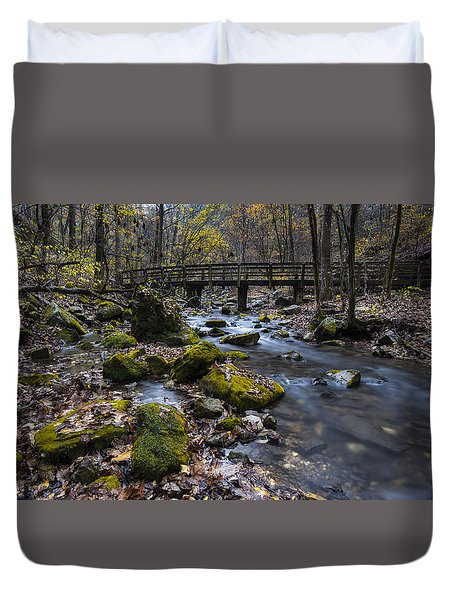 Lonesome Bridge Duvet Cover