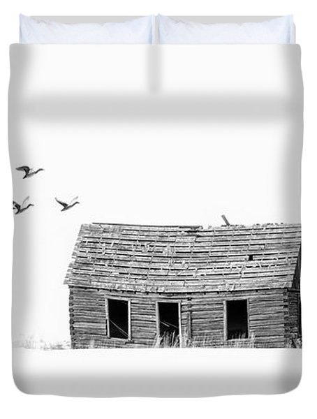 Lonesome But Peaceful Duvet Cover