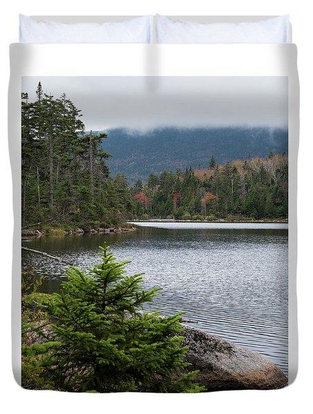 Lonesome Lake Duvet Cover