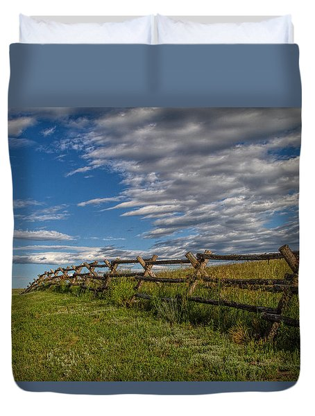 Lonesome Road Duvet Cover