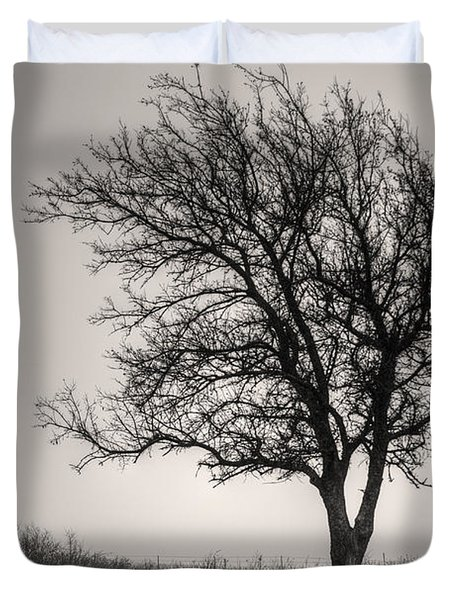 Lonesome Tree Duvet Cover by Tamyra Ayles