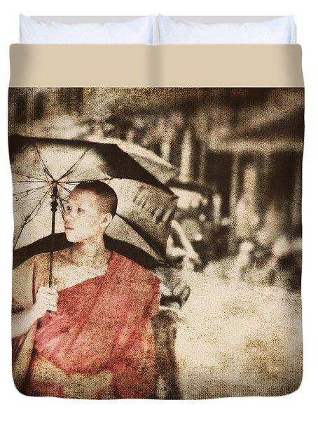 Long Ago In Luang Prabang Duvet Cover