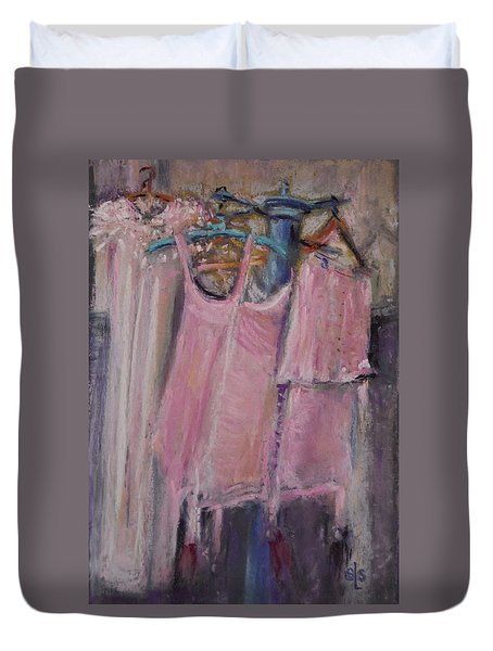 Long Ago Lingerie  Duvet Cover