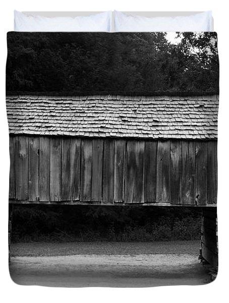 Long Barn Duvet Cover by David Lee Thompson