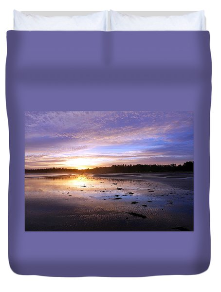 Long Beach, British Columbia Duvet Cover