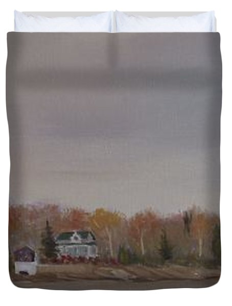 Long Cove Fall Duvet Cover