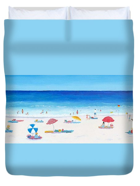 Long Hot Summer Duvet Cover
