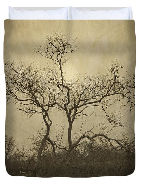 Long Pasture Wildlife Perserve. Duvet Cover