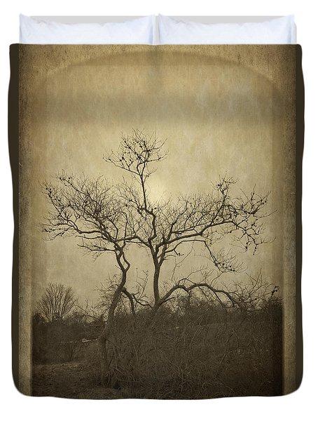 Long Pasture Wildlife Perserve. Duvet Cover
