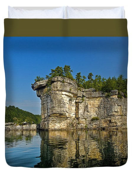 Long Point Duvet Cover