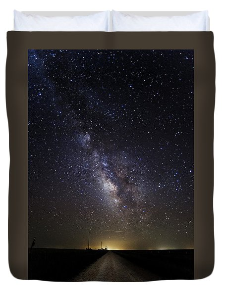 Long Road To Eden Duvet Cover