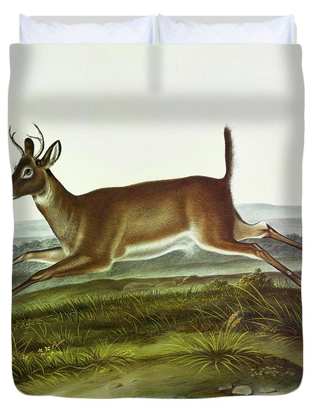 Long-tailed Deer Duvet Cover