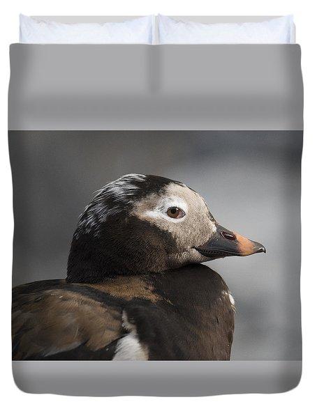Long-tailed Stare Duvet Cover