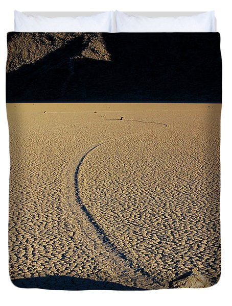 Long Tracks Duvet Cover