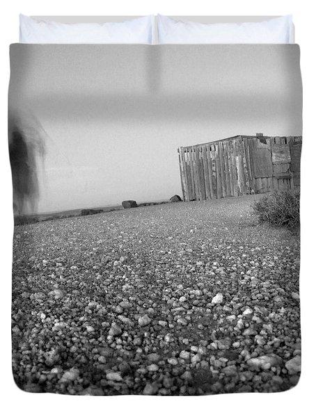 Long Walk Duvet Cover by Mike McGlothlen
